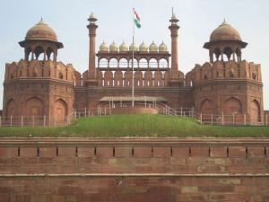 Top India Tourist Destinations - Red Fort complex