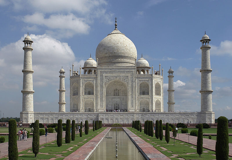 Top India Tourist Destinations India Taj_Mahal, Agra India